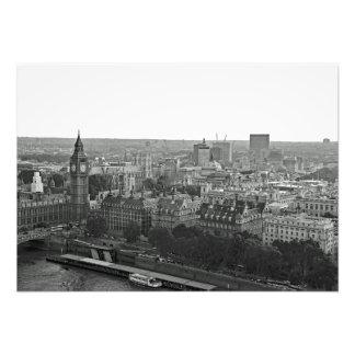 Foto Panorama da cidade do olho de Londres