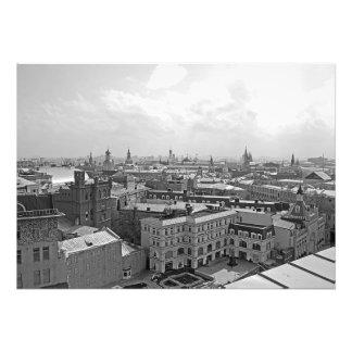 Foto Panorama do centro de Moscovo