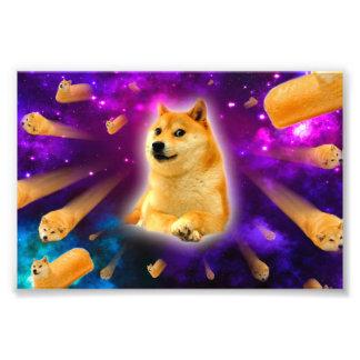 Foto pão - doge - shibe - espaço - uau doge