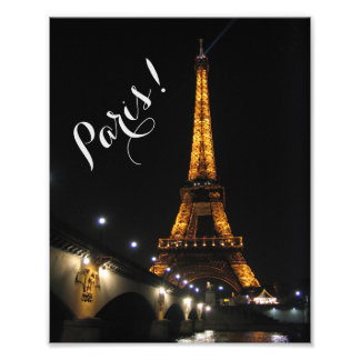 Foto Paris na noite