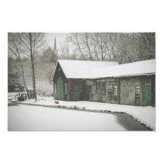 Foto Parque da herança de Summerlee na neve