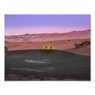 Foto Parque nacional de Vale da Morte do nascer do sol