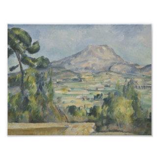 Foto Paul Cezanne - Santo-Victoire de Montagne