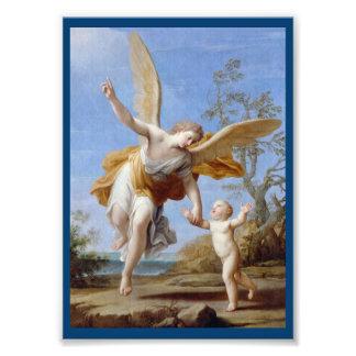 Foto Pelo anjo e pela criança do litoral