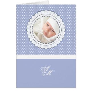 Foto personalizada quadro Scalloped dobro Notecard Cartão De Nota