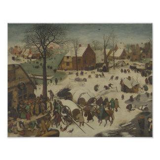 Foto Pieter Bruegel a pessoa idosa - numeração em