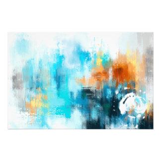 Foto Pintura abstrata