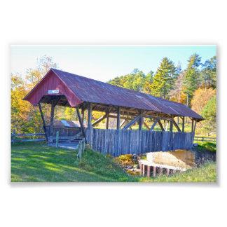 Foto Ponte coberta de Randall, Lyndonville, Vermont