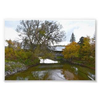 Foto Ponte coberta de Sanborn, Lyndon, Vermont