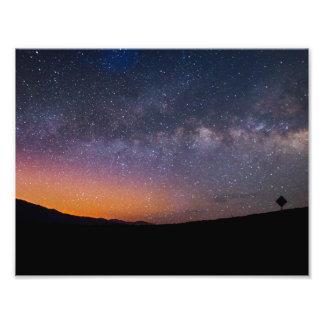 Foto Por do sol da Via Láctea do Vale da Morte
