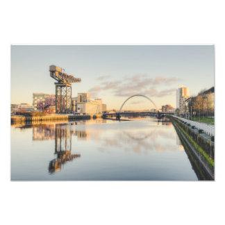 Foto Por do sol de Clyde do rio