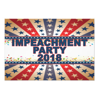 Foto Poster 2018 do partido da destituição
