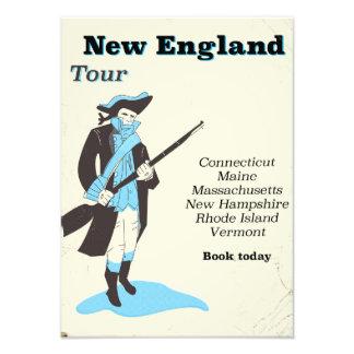 Foto Poster das viagens vintage da excursão de Nova