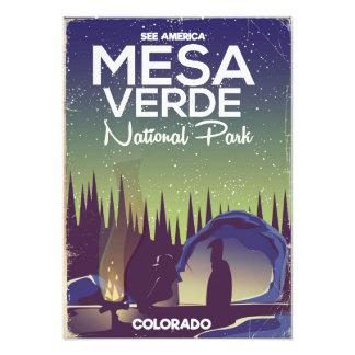 Foto Poster de viagens de acampamento do parque