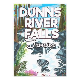 Foto Poster de viagens de Jamaica das quedas do rio de