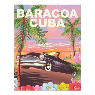 Foto Poster de viagens do automóvel de Baracoa Cuba
