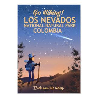 Foto Poster de viagens nacional do parque natural do