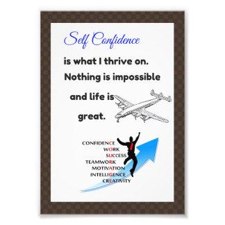 Foto Posters da confiança, cartões da confiança