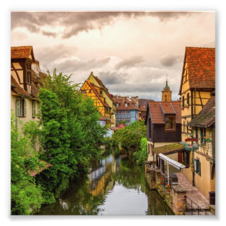 Foto Pouca Veneza, pequeno Venise, em Colmar, France