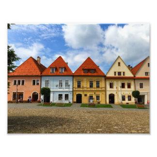 Foto Praça da cidade velha em Bardejov, Slovakia