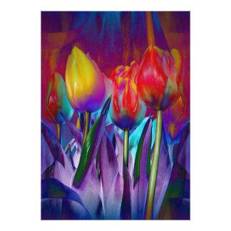 Foto Primavera colorido