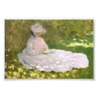 Foto Primavera por Claude Monet