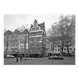 Foto Quadrado de Hoymarkt na água de Colônia