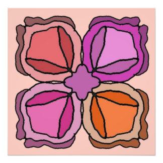 Foto Quatro rosas