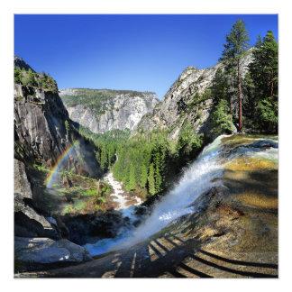 Foto Queda Vernal da parte superior - Yosemite