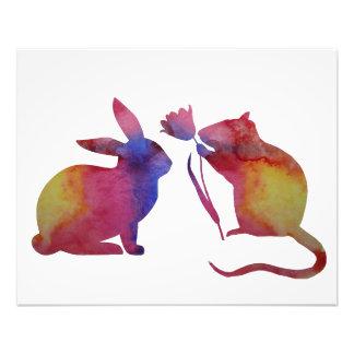 Foto Rato e coelho