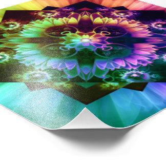 Foto Respiradouros do DES de Fleur, flor do Fractal do