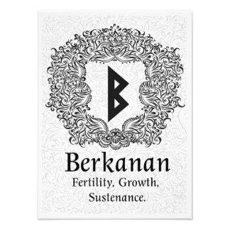 Foto Rune /Fertility/versão branca de Berkanan