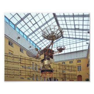 Foto Satélite, comunicações museu, St Petersburg