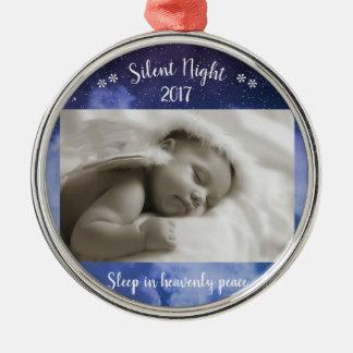Foto silenciosa da noite - ornamento de Cirlce