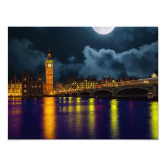 Foto Skyline ben grande de Londres, Inglaterra