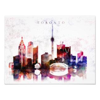 Foto Skyline da aguarela de Toronto