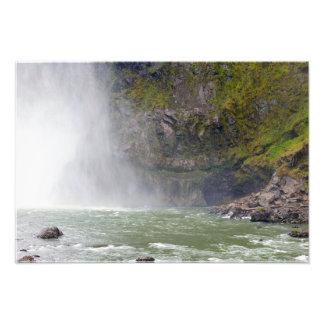 Foto Snoqualmie cai bacia hidrográfica
