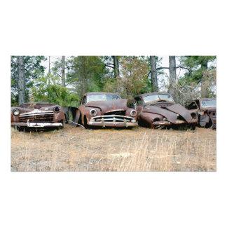Foto Sobras oxidadas de quatro clássicos