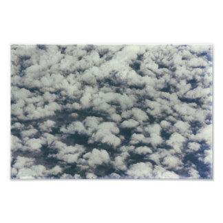 Foto Tempo azul da nuvem & branco macio abstrato
