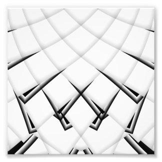 Foto Teste padrão preto e branco
