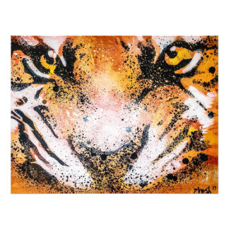 Foto Tigre dos grafites