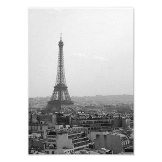Foto Torre Eiffel (preto & branco)