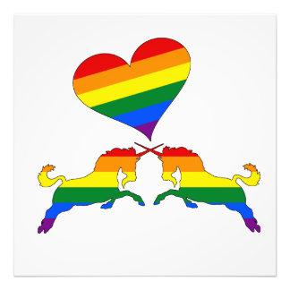 Foto Unicórnios do arco-íris