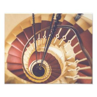 Foto Vão das escadas do farol de Fraserburgh