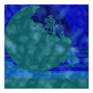 Foto verde e azul