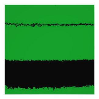 Foto verde e preto