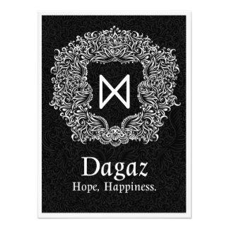 Foto Versão preta de Dagaz /Happiness/