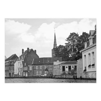 Foto Vista clássica de Bruges