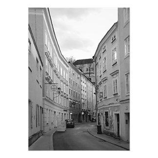 Foto Vista da rua estranha de Salzburg