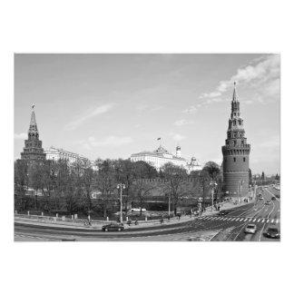Foto Vista das torres de Borovitskaya e de